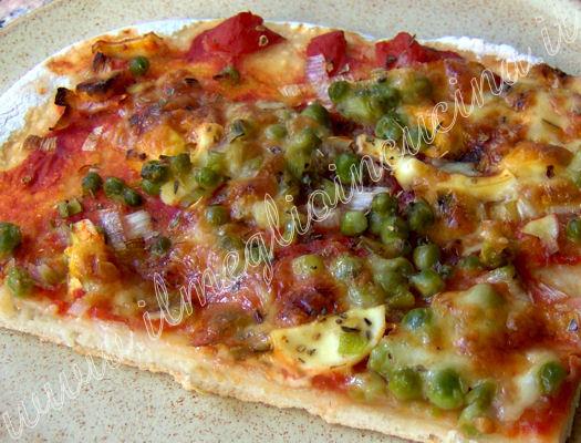 Il meglio in cucina pizza capricciosa vegetariana pizza capricciosa vegetariana - Una vegetariana in cucina ...