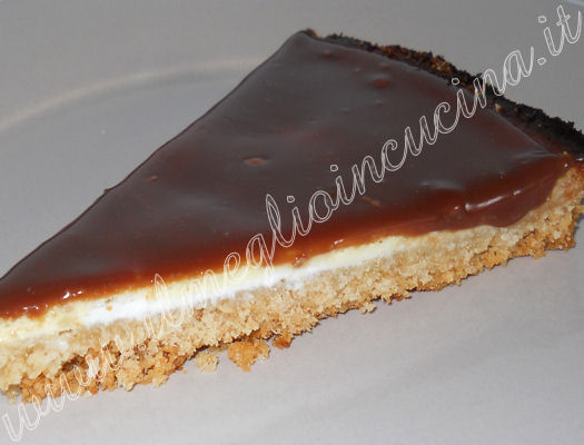 Chocolate and coconut cheesecake