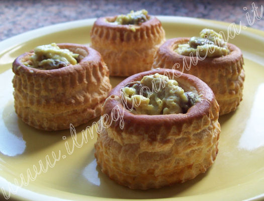 Indian style Vol-au-vent